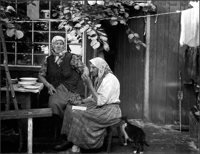 рассказ бабушка у окна а внук сзади