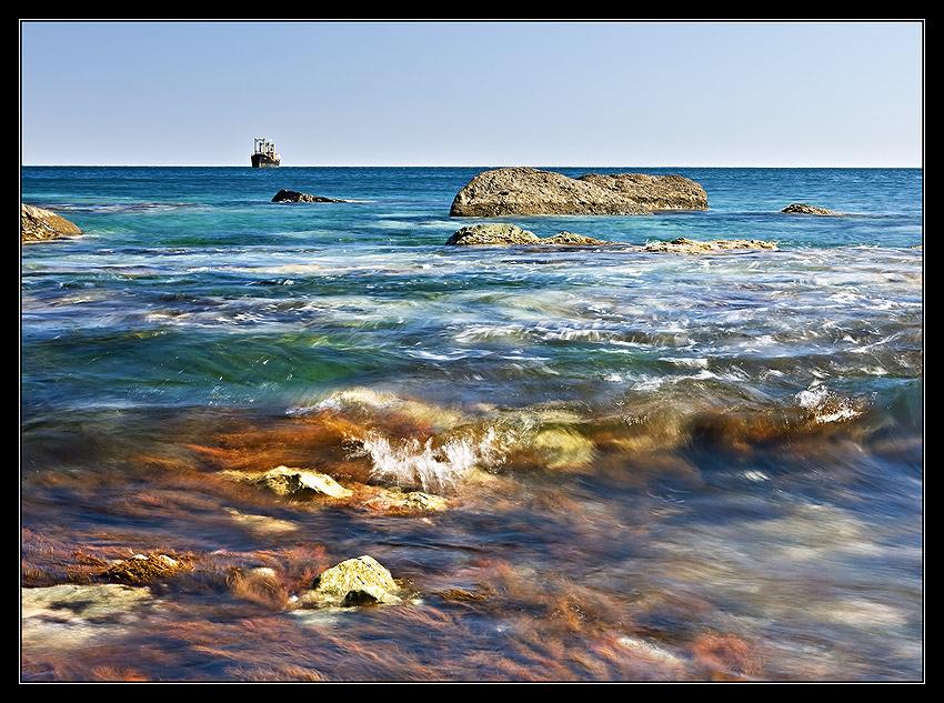 Берег Японского моря Марина Кочетова