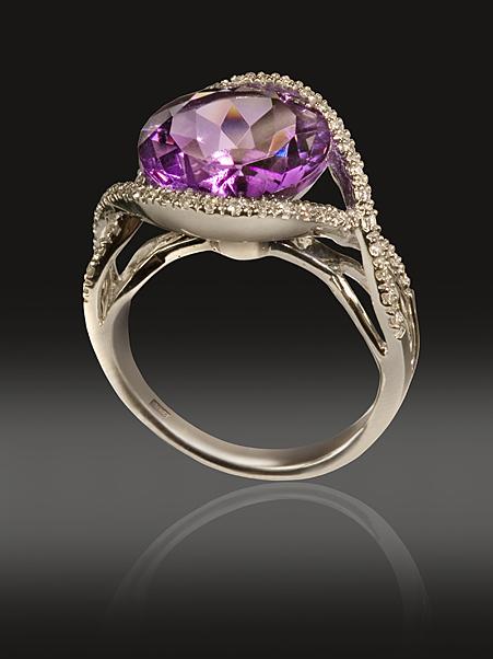 Фотосъемка ювелирных украшений. . Урок предметной. съемки. . Фотографируем кольцо с камнем