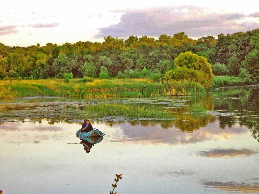 Рыболовные пейзажи