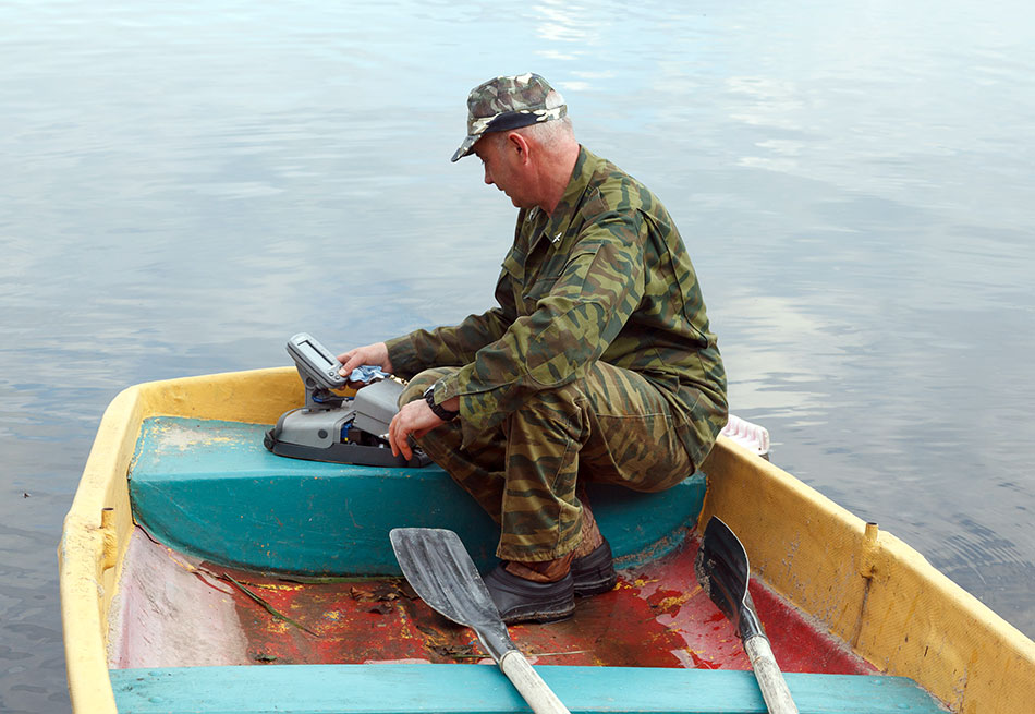 в нерест с лодки в волге