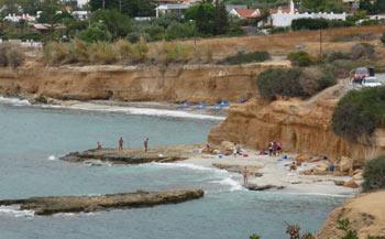 Нудистский пляж. Херсониссос.