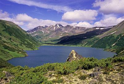 Озеро Дальнее в окрестностях Бакенинга.